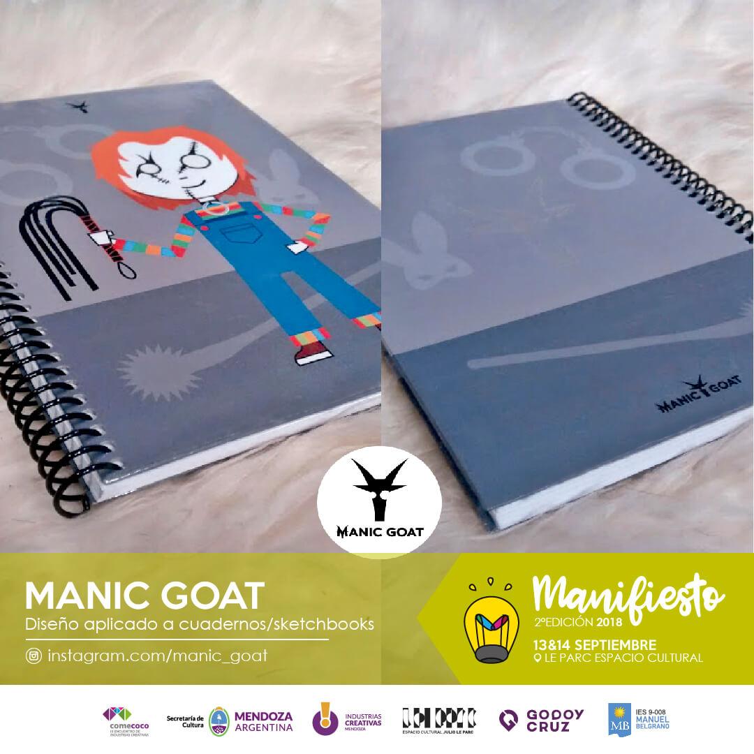 Flyer Manic goat