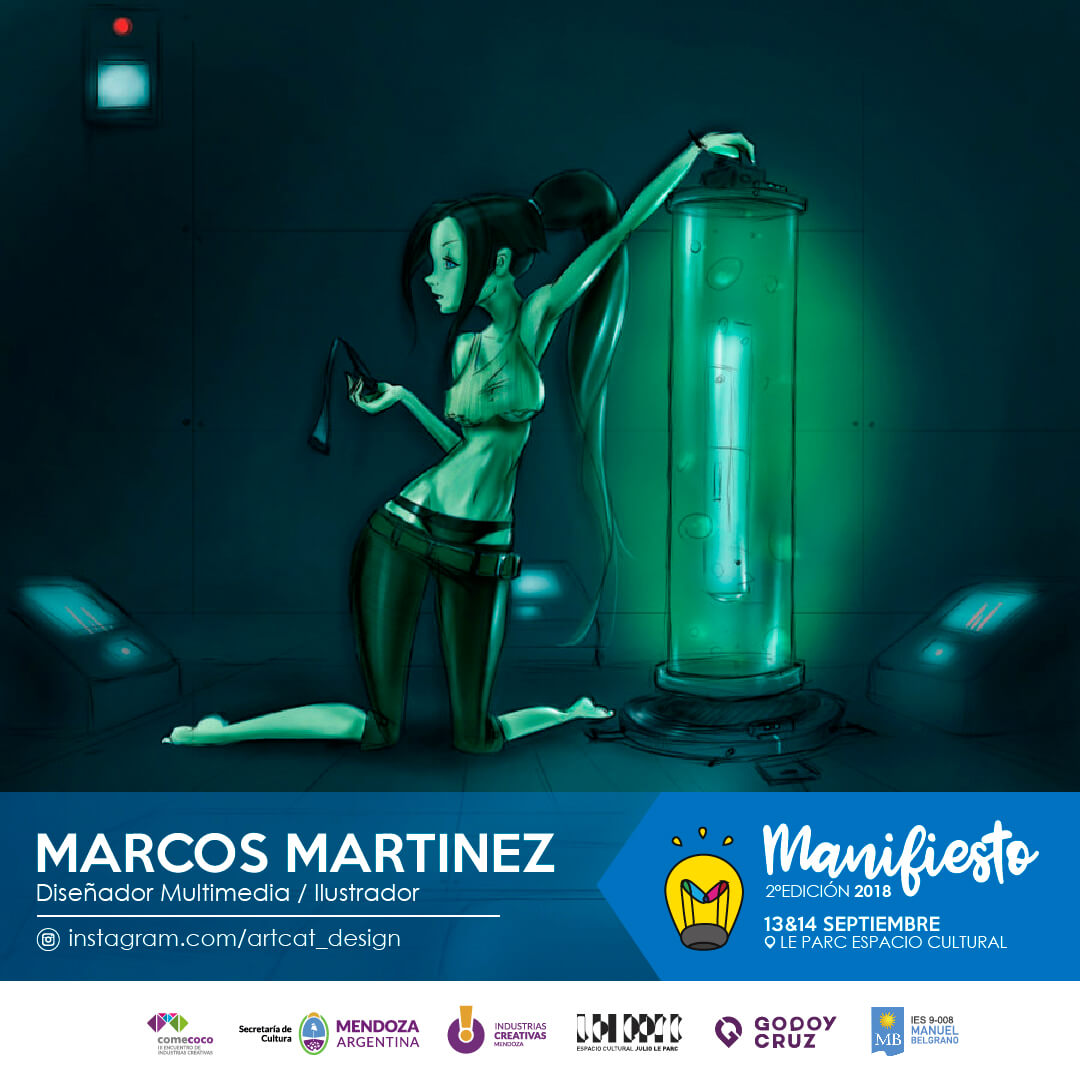 Flyer Marcos Martinez