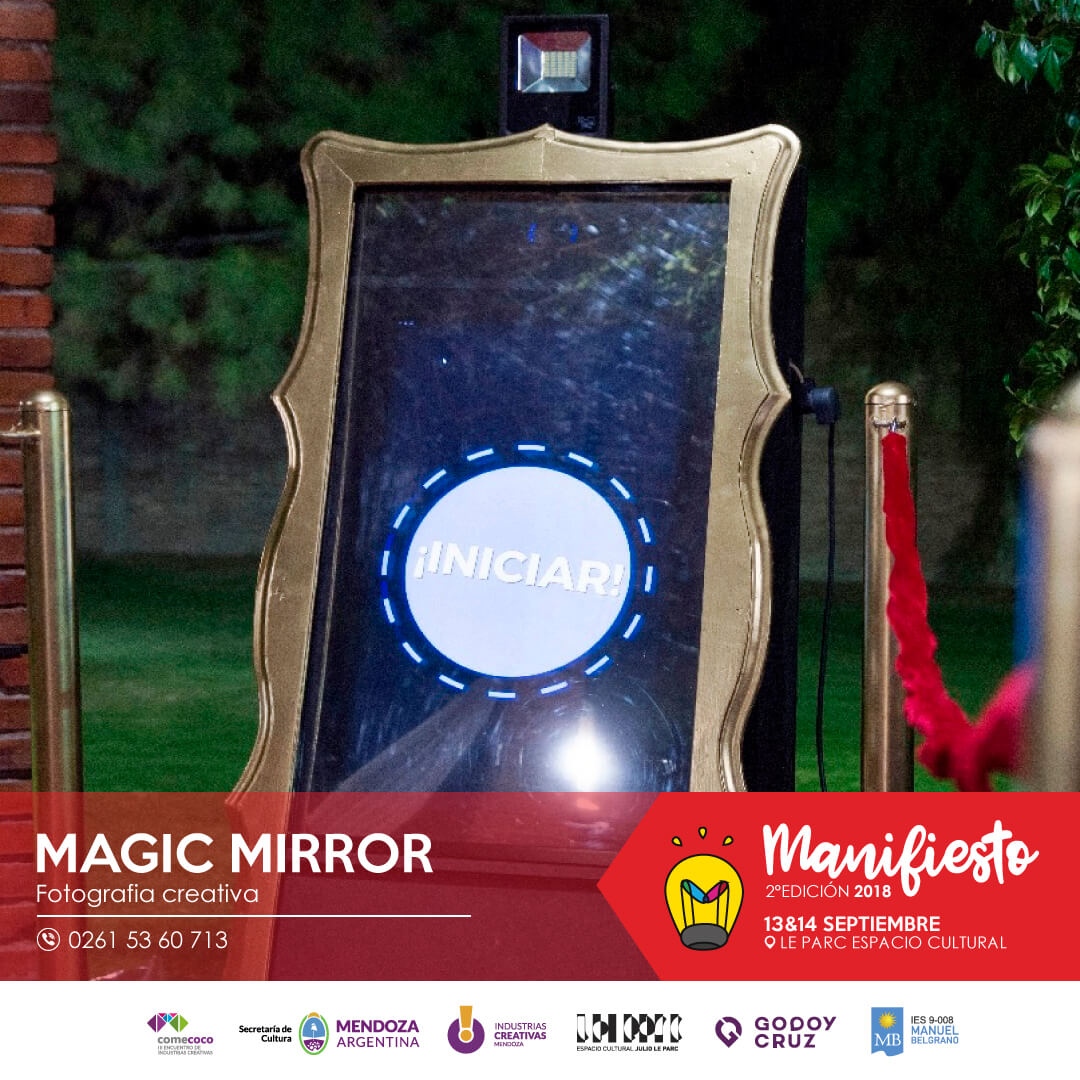 Flyer magic mirror