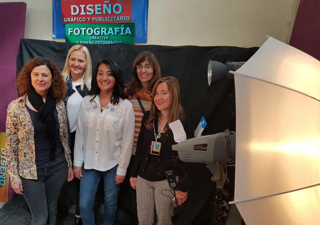 El Belgrano se presentó ante la comunidad escolar en Las Heras
