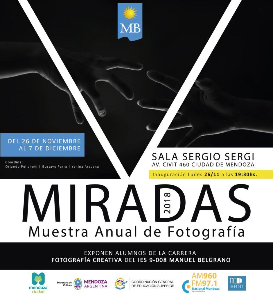 MIRADAS MUESTRA ANUAL_MIRADAS FLYER
